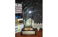 "Award for the project ""Promoting the Roman Festival Zalău Porolissum – promotional tool for the local archeological sites"""