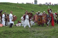 Fight between Dacians and Romans at Porolissum